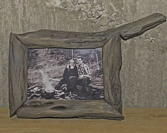 Wood Frame Driftwood Picture Frame 5x7 Photo Frame