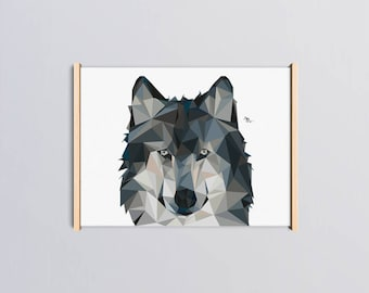 """Poster """"Wolf"""" - 30 x 40"""