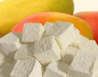 Tropical Mango Gourmet Marshmallows  - 16 Gourmet Handcrafted Marshmallows