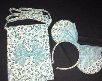 Blue Cherry Blossom Bundle