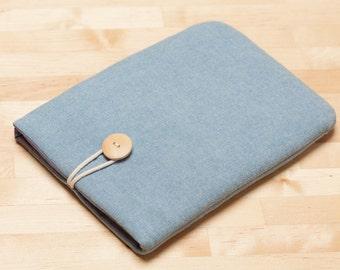 Samsung Galaxy Tab 4 10.1 sleeve case, Galaxy Note 10.1 cover // Galaxy Tab 4 8.0 / Galaxy Tab 3 7.0 / Galaxy Tab S sleeve  - Plain indigo