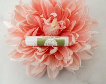 Peppermint Lip Balm -  Moisturizing Lip Butter - Best Friend Gift - Organic Lip Balm - Valentine Gift for Teacher - Natural Lip Gloss