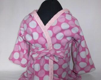 Toddler robe, toddler hooded robe, kids hooded robe, kids robe, custom fabric choice, toddler gift
