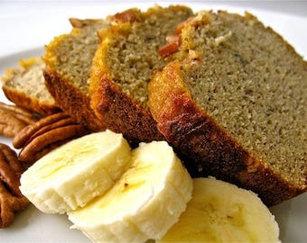 Banana Nut Bread All Natural Soy Candle 16oz.