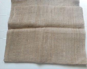 Burlap. 47 inches wide laminated burlap. Natural burlap by the yard. Natural burlap fabric. Burlap fabric.Natural Laminated Burlap. Supply