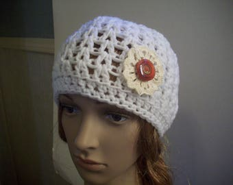 Crochet - Messy Bun/Ponytail Hat