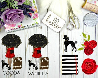 Fall in Love Die Cuts (5 Pieces)