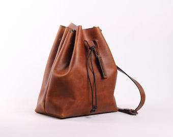Bucket Bag ( Honey)