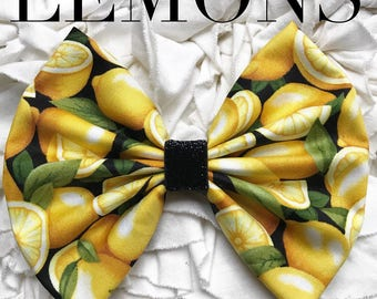 Lemons Bow Band Homemade