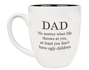 Funny Mug, Mug personnalisé, tasse de jour de fête des pères, fête des pères, cadeau pour papa, personnalisé Mug, tasse à café tasse, tasse en céramique,--27227, gravée-CM06-117