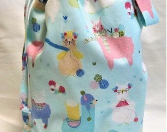 Sock Knitting Project Bag