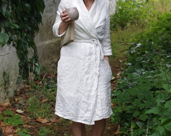 LINEN  Sumer Coat / Robe