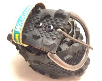 Recycled Bike Tire Belt