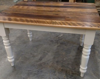 Farmhouse Table | Reclaimed Chestnut Dining Table | Local Pickup Only