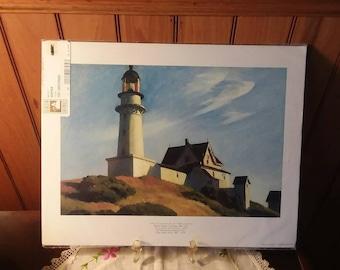 Edward Hopper Lighthouse Print