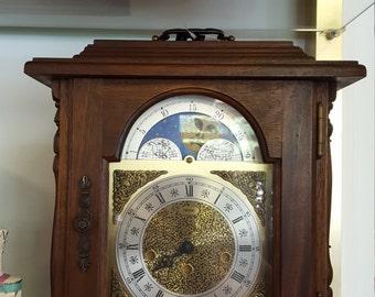 Antique Clock Moon Face