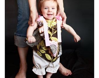 Baby Girl Dress Pillowcase Dress Amy Butler Lotus Lacework
