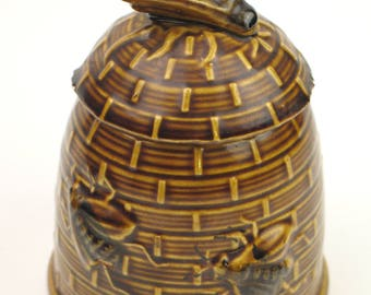 Vintage 70s honey pot
