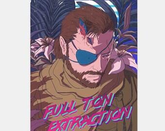 FULLTON EXTRACTION: Metal Gear Solid V fanbook