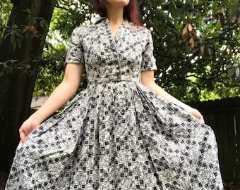 Tahiti Batik Dress