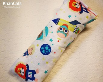 """Catnip and Valerian Root Kicker Cat Toy """"Mission to the International Cat Station ICS"""""""