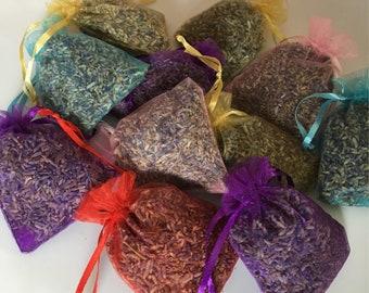 5 Lavender sachets. Wedding lavender, bulk lavender, wholesale lavender