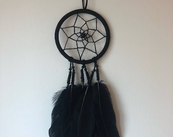 Mini Dreamcatcher -Black