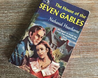 The House of Seven Gables by Nathaniel Hawthorne (Pocket Books, 1951) No. 52