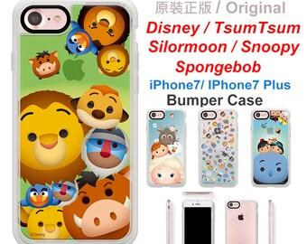 Original TsumTsum For Iphone7 case  ,Iphone7 Plus case,Bumper Case, Phone Case,