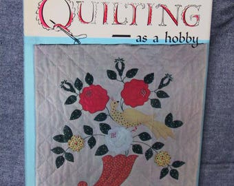 Brightbill, Dorothy - Quilting as a hobby (Bonanza Books, a division of Crown Publishers, Inc.; New York; Good Hardcover/Good DJ) USED