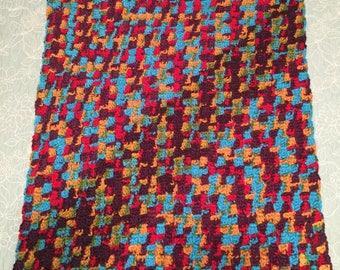 Multi-Color Baby Blanket