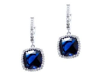 Square Dangled Earrings