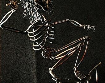 Skate Punk, Meet the Morgueans, Skateboarder, Metal Sculpture