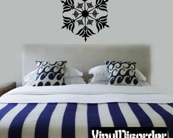 Snowflakes Vinyl Wall Decal Or Car Sticker - Mv031ET