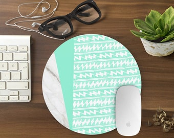 Mouse Pad, Marble Mousepad, Mouse Mat Marble print Mouse Pad Office Mousemat Rectangular Mousemat Mousepad geometric design mouse pad-T80657