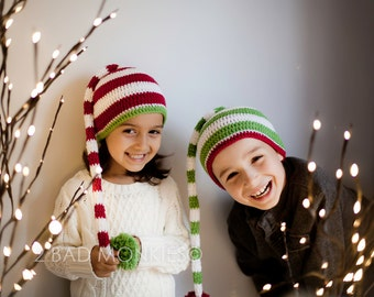Christmas Hat, Baby Christmas Hat, Toddler Christmas hat, Santa Hat, Elf hat - Toddler Elf hat, Christmas hat adult, Christmas hat for kids