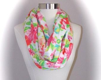 Floral summer/spring scarf