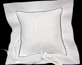 Ring bearer pillow personalized with your monogram jfyBride Style 5219