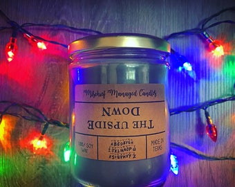 The Upside Down 100% Soy Wax Candle