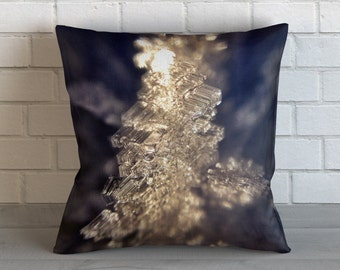 Ice Crystals  Pillow