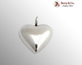 SaLe! sALe! Vintage Heart Pendant Sterling Silver Barra