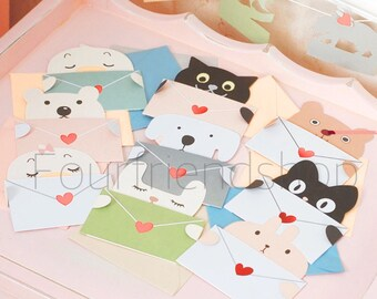 THREE MIX Cute animal Greeting Card,Birthday Card,Card,Animal
