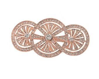 rose gold brooch, christmas brooch, art deco brooch, rosegold brooch, broach, rose gold broach, rose gold brooches, rose gold jewelry