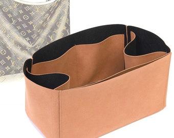 Regular Style Nubuck Leather Handbag Organizer for LV Delightful Bags