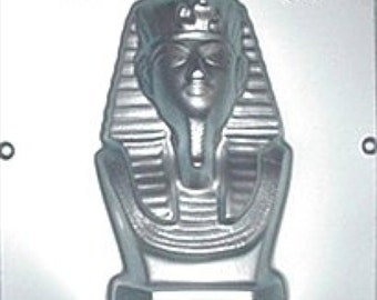 King Tut Egyptian Chocolate Candy Mold 565