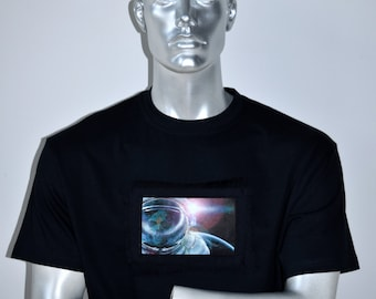 Bowie T-shirt - David Bowie Tribute T-shirt - Major Tom T-shirt Design - Space Race