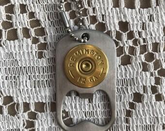 12 GA bottle opener