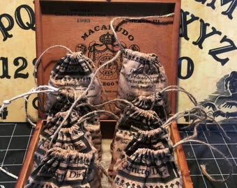 Witchcraft and Magic Supplies for Voodoo Doll and Spells Cemetery Dirt Grave Dust Alter Doll Dia De Los Muertos Magick