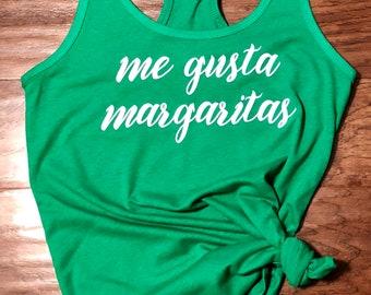 Me Gusta Margaritas Tank