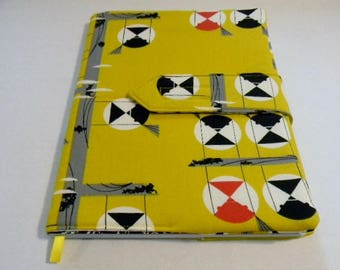 Charley Harper Family of Chickadees Fabric Covered Journal